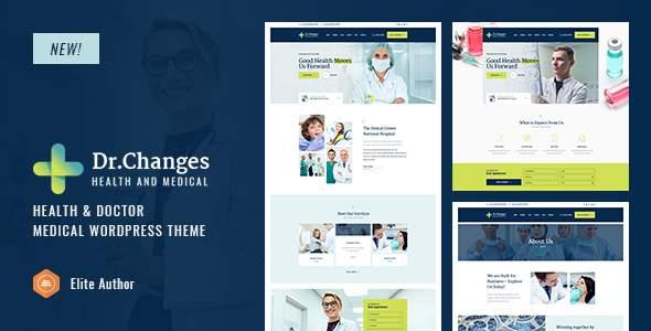 Dr.Changes - Doctor & Medical Clinic WordPress Theme        TFx Denzil Ryouichi
