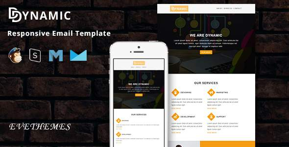 Dynamic – Responsive Email Template        TFx Carol Tyrone