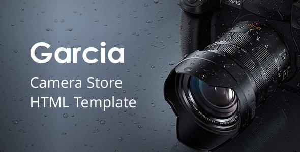 Garcia - Camera Store HTML Template        TFx Perce Dillan