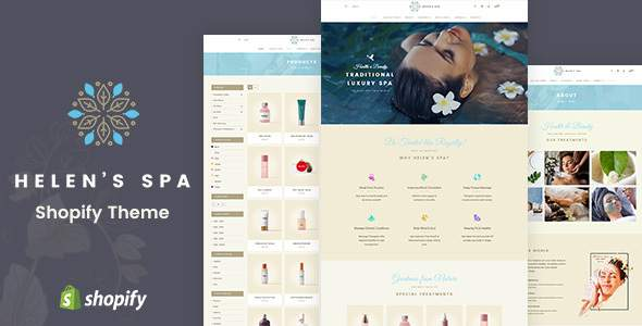 Helen's Spa – Sectioned Shopify Theme        TFx Finlay Trueman
