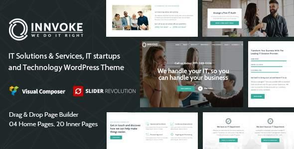 Innvoke - IT Solutions & Services WordPress Theme        TFx Dax Addison