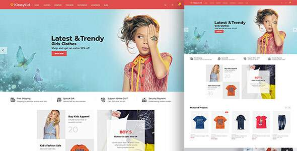 Klassy Kids Fashion – Electronics Magento 2.3 Theme        TFx Flavian Kerry