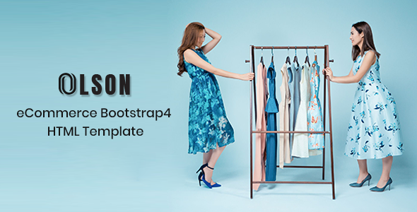 Olson – eCommerce Bootstrap 4 Template        TFx Kam Jerome