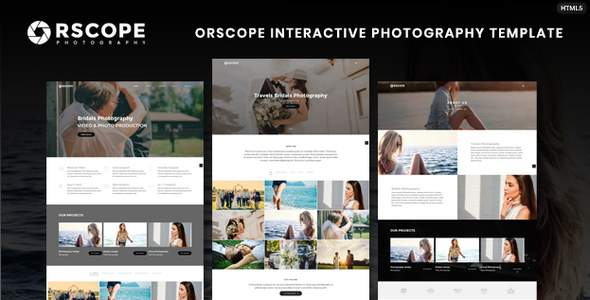 Orscope Interactive Photography Template        TFx Michi Vance