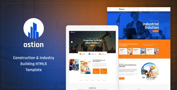 Ostion – Construction & Industry Building Company HTML5 Template        TFx Gervase Balfour