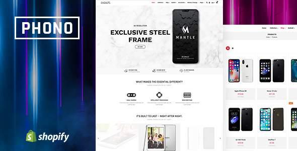 Phono | Phone Accessories Shopify Theme        TFx Reggie Bertrand