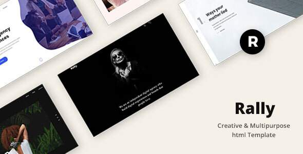 Rally - Creative & Multipurpose html Template        TFx Wilson Dayton