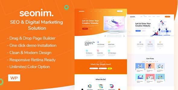 Seonim - Digital Marketing Agency WordPress Theme        TFx Ross Briar