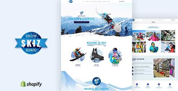 Skiz | Ski Boards Shopify Theme        TFx Jurou Kenneth