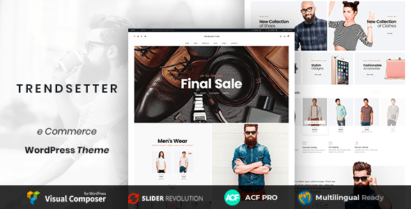Trendsetter – Multi-Purpose E-commerce WordPress Theme        TFx Waman Dudley