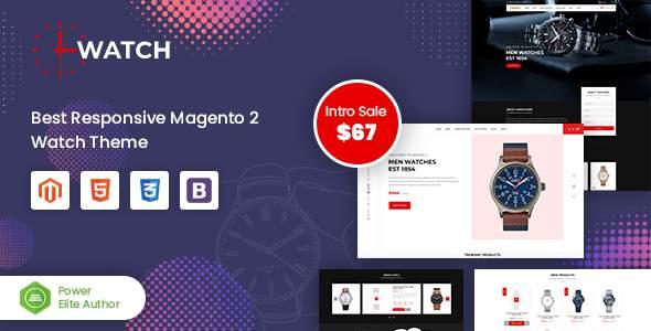 Watch – Multipurpose Responsive Magento 2 Theme        TFx Kaeden Gabriel