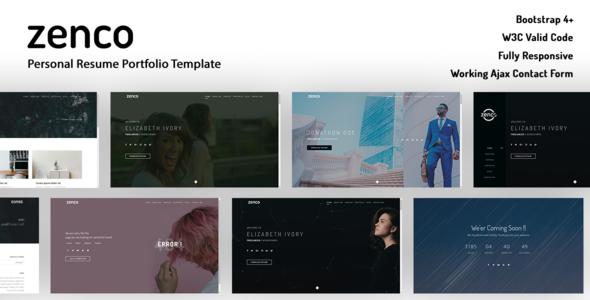 Zenco - Maultipage Template By Dsahathemes        TFx Thane Otis