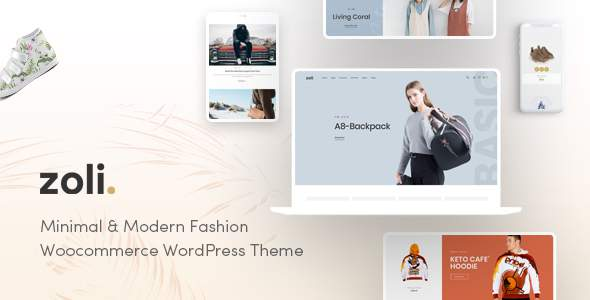 Zoli - Minimal & Modern Fashion WooCommerce WordPress Theme        TFx Yuu Antiman