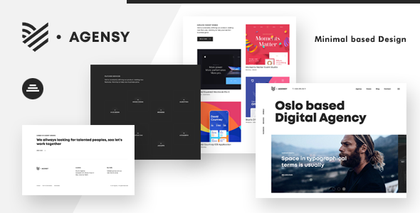 Agensy | Digital Lab & Creative Solutions Theme        TFx Elwood Hayato