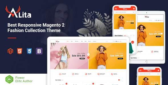 Alita - Responsive Magento 2 Fashion Store Theme        TFx Coleman Tennyson