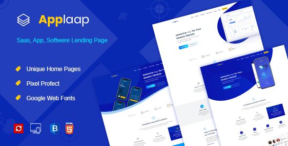 AppLaap – App Landing Page        TFx Temple Yasu
