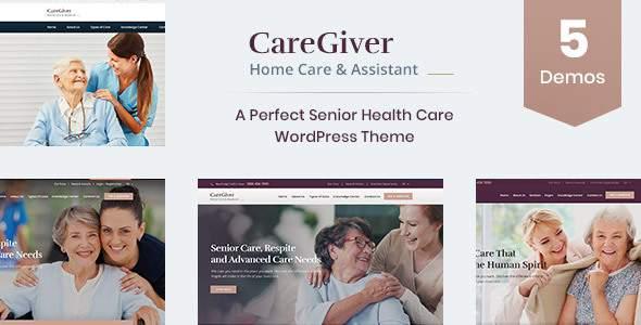 Care Giver – Senior Care WordPress Theme        TFx Ross Truman