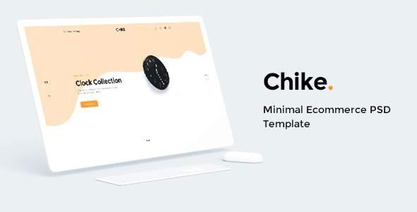 Chike - Minimal Ecommerce PSD Template        TFx Christmas Redd