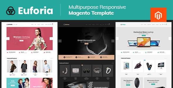 Euforia Black - Multipurpose Magento 2 Theme        TFx Baldwin Roger