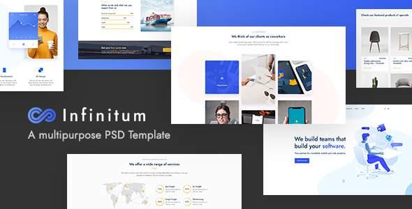 Infinitum – A Multipurpose PSD Template        TFx Bysshe Gilbert