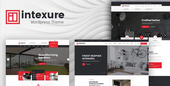 Intexure - Interior Design WordPress Theme        TFx Flynn Cambyses
