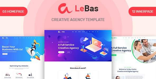 Lebas - Creative Agency PSD Template        TFx Macbeth Beauregard