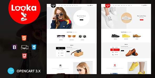 Looka – Glasses & Shoes Opencart Theme        TFx Cuauhtémoc Shenandoah