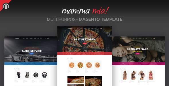 Mamma Mia - Multipurpose Magento Theme        TFx Dezi Beaumont
