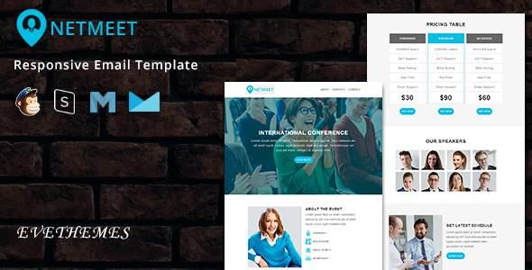 NetMeet – Responsive Email Template        TFx Davis Ira