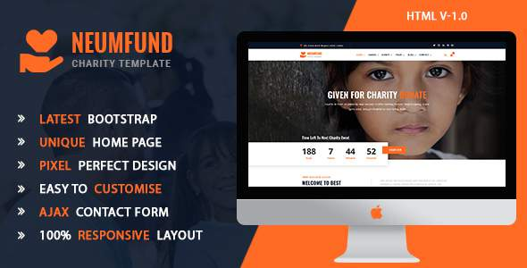 Neumfund - Charity and Donation HTML5 Template        TFx Shaw Layne