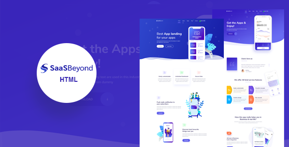 SassBeyond – Sass & Software Landing Page Template        TFx Maquinna Ronald