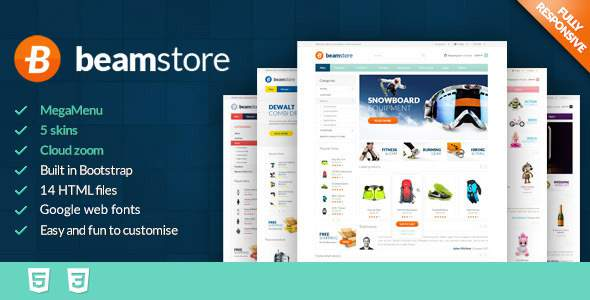 BeamStore - Premium React Ecommerce Template        TFx Robbie Franklin