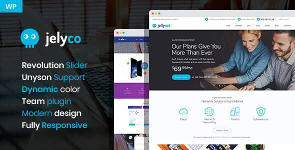 JelyCo - ISP WordPress Theme        TFx Emmett Maddox