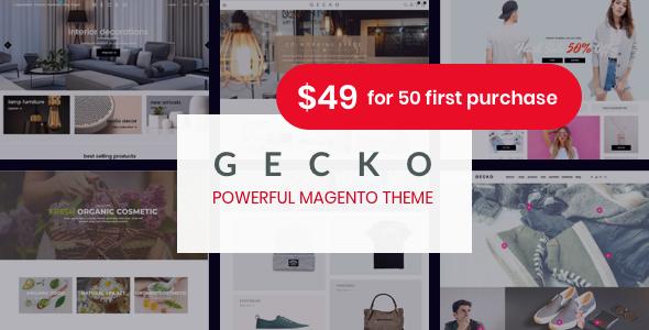 Gecko - Responsive Magento 2 Theme | RTL supported        TFx Korey Yuki