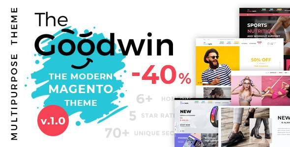 Goodwin – Ultimate Responsive Magento 2 Theme        TFx Harris Stew