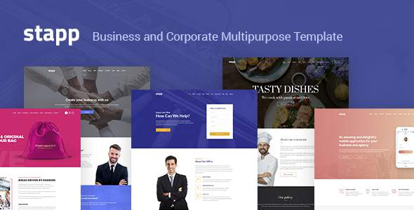 Stapp – Business Multipurpose Joomla Template        TFx Rokuro Harry