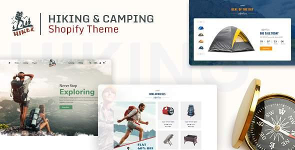 Hikez  Trekking amp Hiking Shopify Theme TFx Kipling Benedict