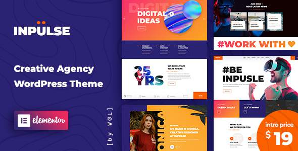 InPulse – Creative Agency WordPress Theme TFx