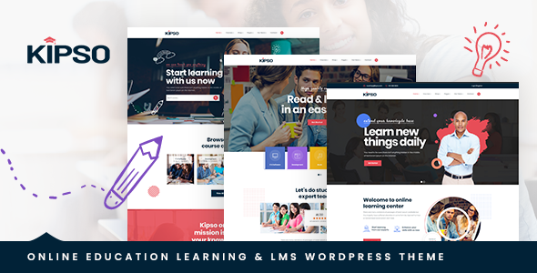 Kipso – Education LMS WordPress Theme TFx