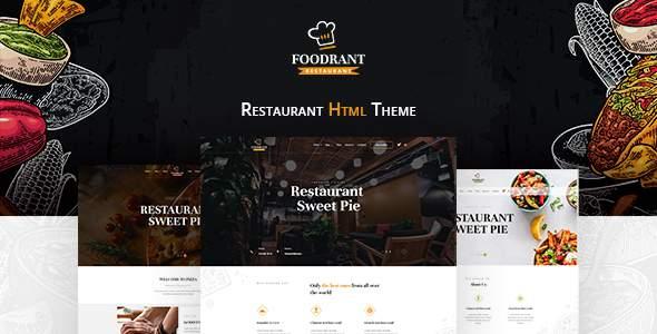 Foodrant – HTML Restaurant Template TFx