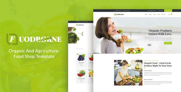 Fuodborne – Organic amp Agriculture Food Shop Template TFx