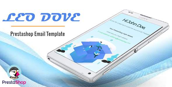 Leo Dove – Perfect Email Template For Prestashop Ecommerce TFx