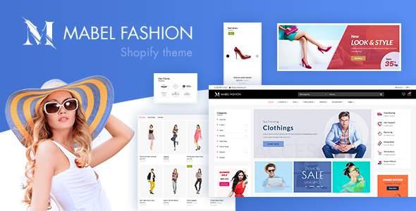Mabel  Fashion Shopify Theme TFx Shopify