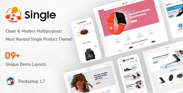 Single - Multipurpose Prestashop Theme TFx