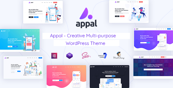 Appal - Creative Multi-purpose WordPress Theme TFx