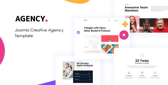 JD Agency – Creative Agency Joomla Template TFx