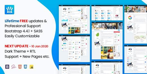 Osahanin – Job Portal amp Social Network HTML Template TFx