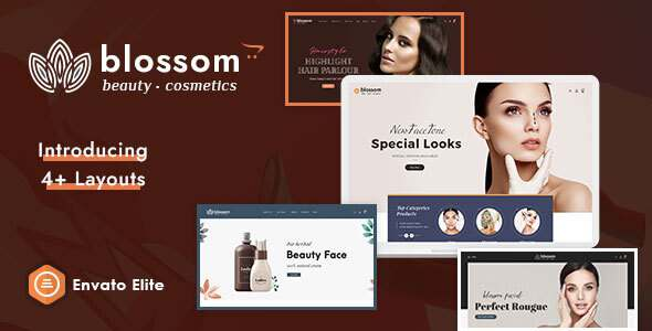 Blossom - Beauty Cosmetics Opencart Multi-Purpose Responsive Theme TFx