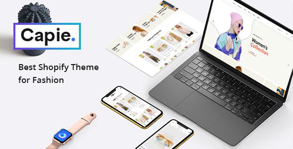 Capie – Fashion Shopify Theme – Mobile Optimized Sections Builder TFx