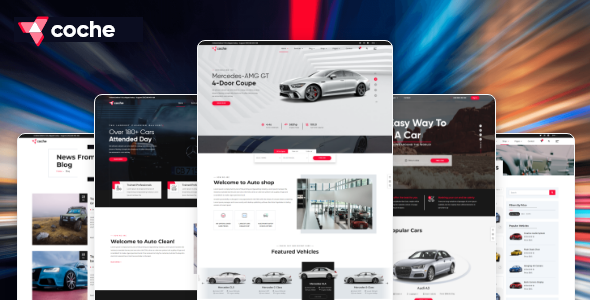 Coche – Car servicing HTML Template TFx